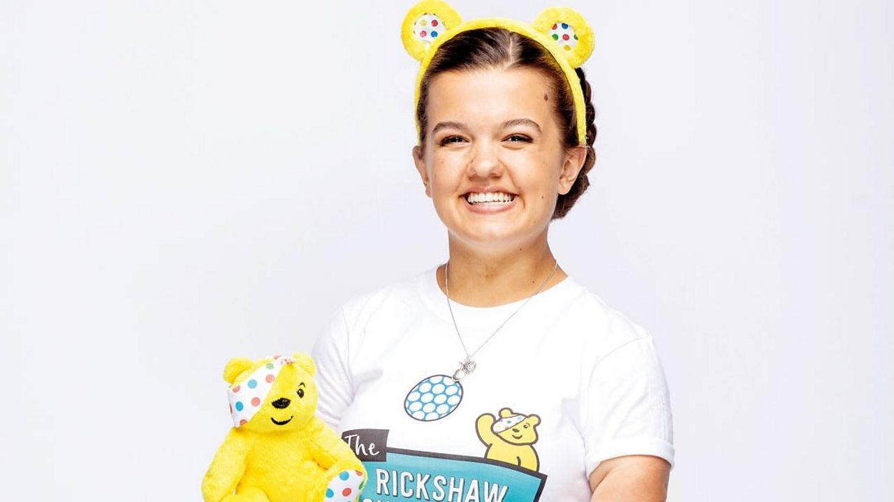 Maisie's life-changing Children in Need challenge