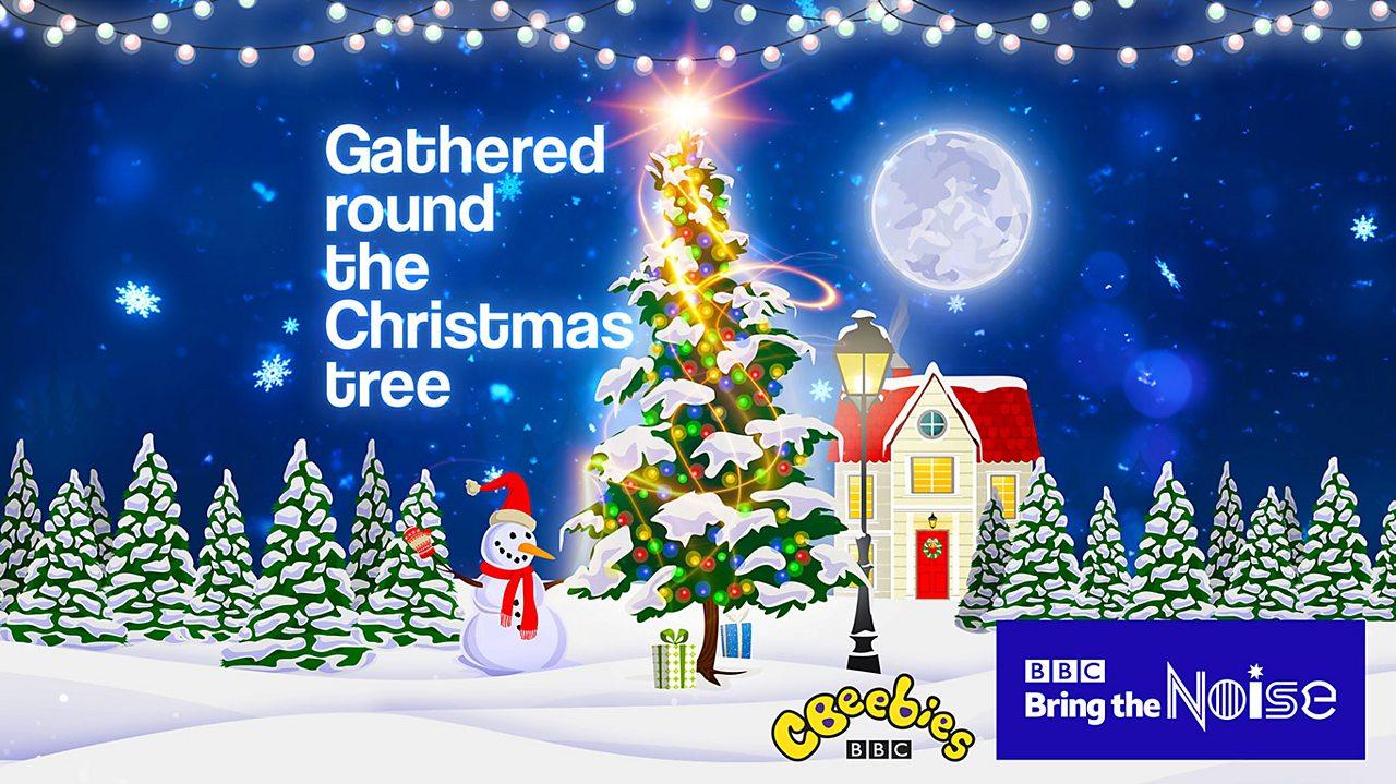 Gathered round the Christmas tree lyrics and lesson plans
