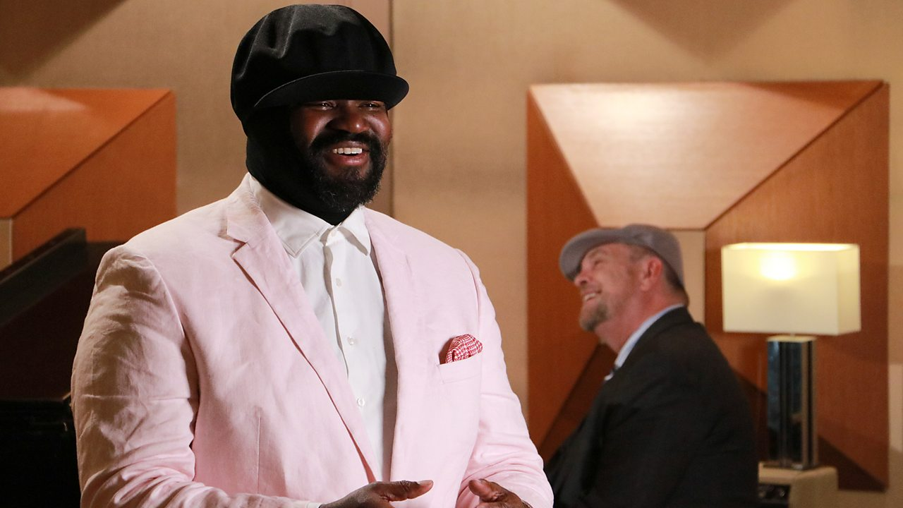 Sing along to Winter Wonderland with Gregory Porter