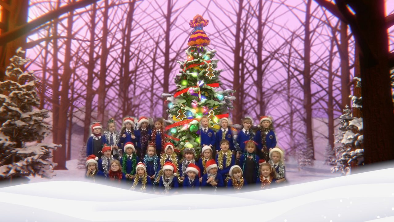 Gathered Round the Christmas Tree sing-along