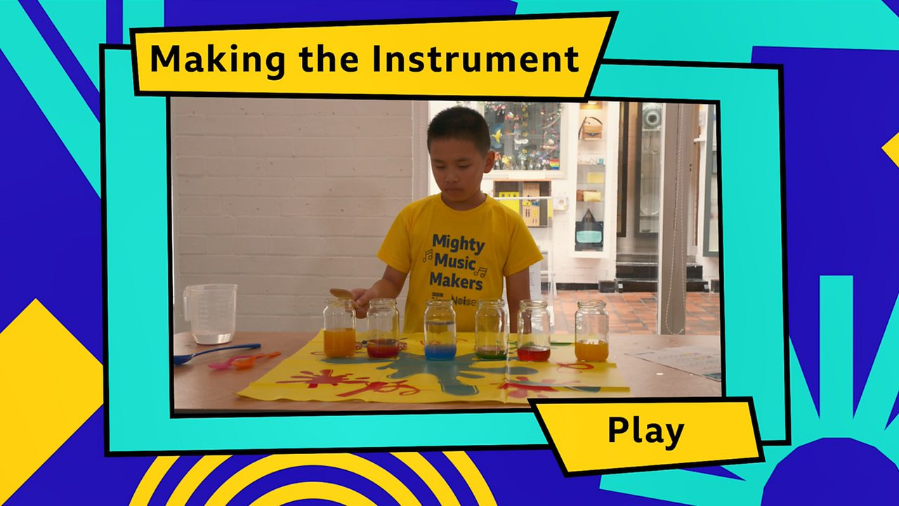 Using homemade instruments to make music - BBC Teach