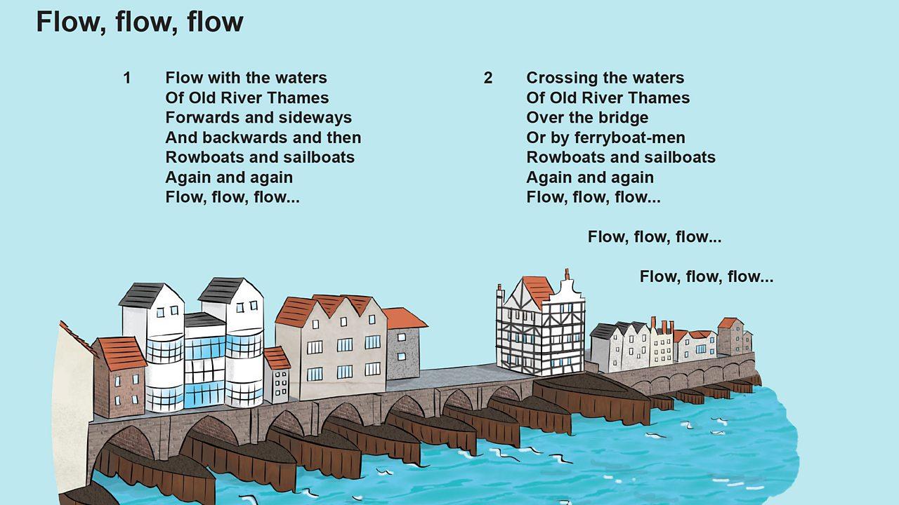 Flow, flow, flow song lyrics (pdf)