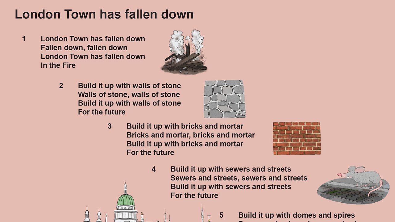 London Town has fallen down lyrics (pdf)