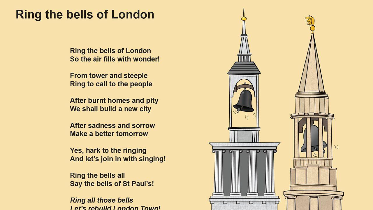 Ring the bells of London lyrics (pdf)