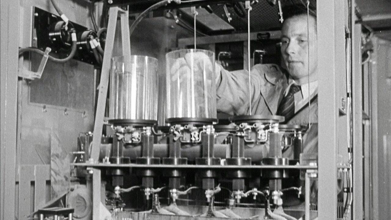Holme Moss transmitter, 1951