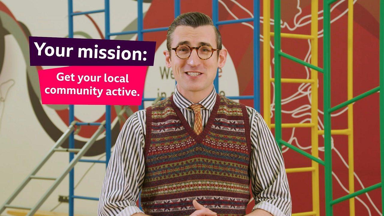 Active Communities - Super Mission activity sheet