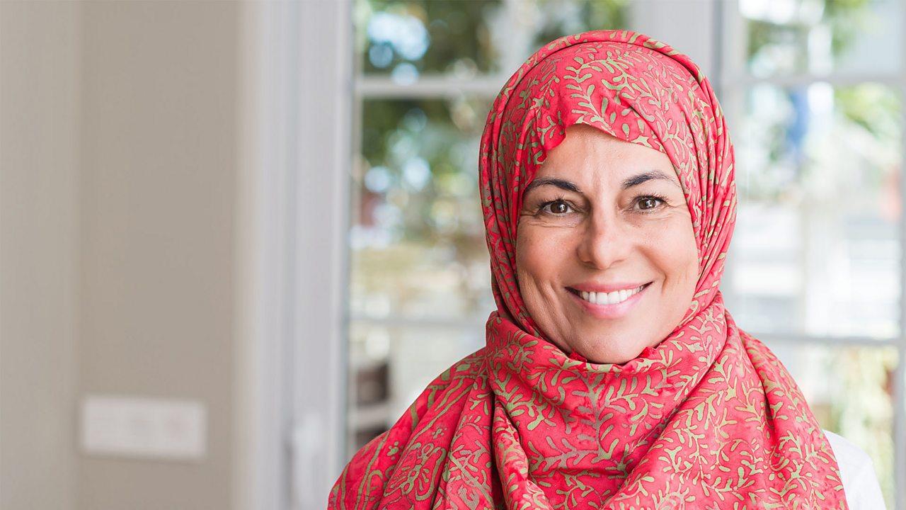 A photo of a woman wearing a hijab
