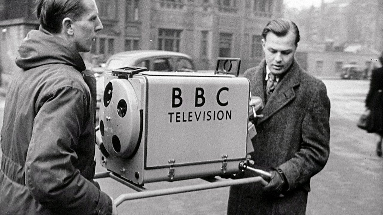 BBC's new outside broadcast kit, 1949