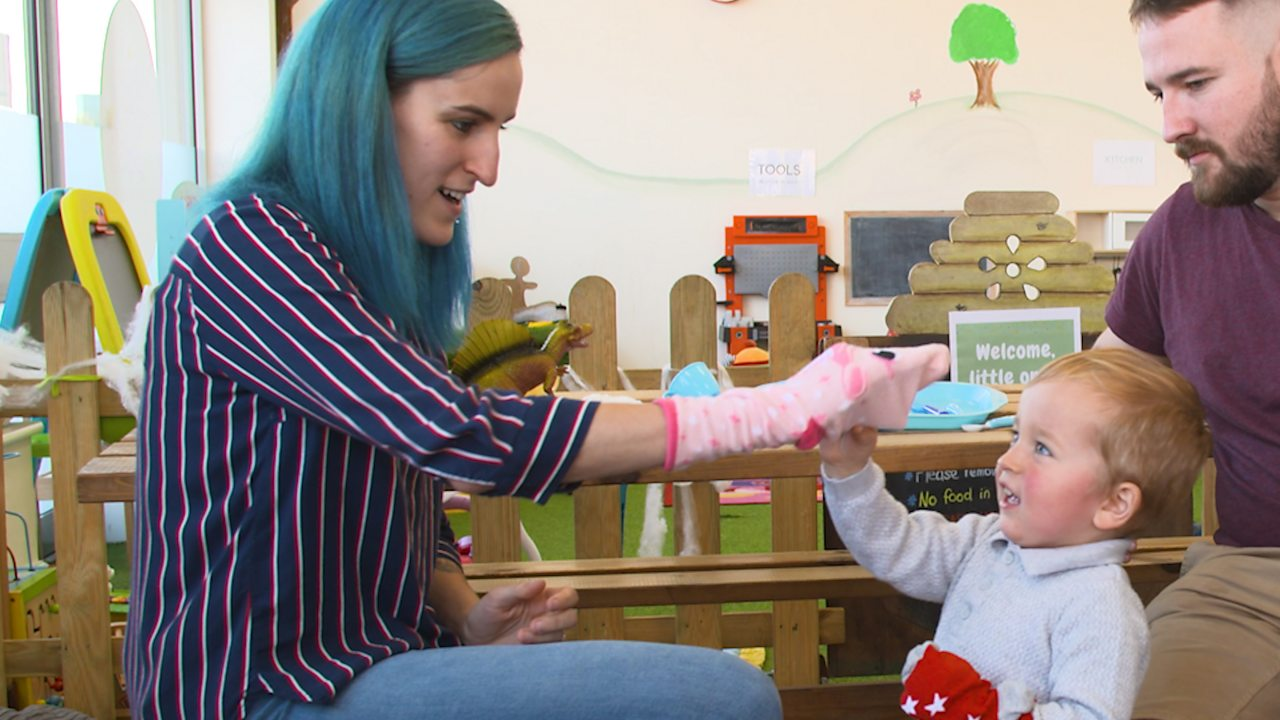 Dr Claire Halsey's top tips for 2-3 years: Imaginary play