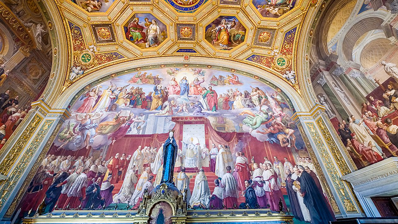 Christianity - Artworks at St Peter's Basilica, Vatican City