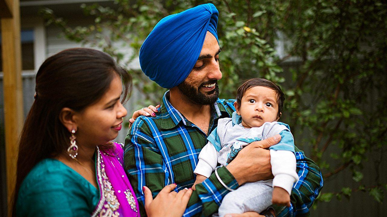Sikhism – A Sikh family