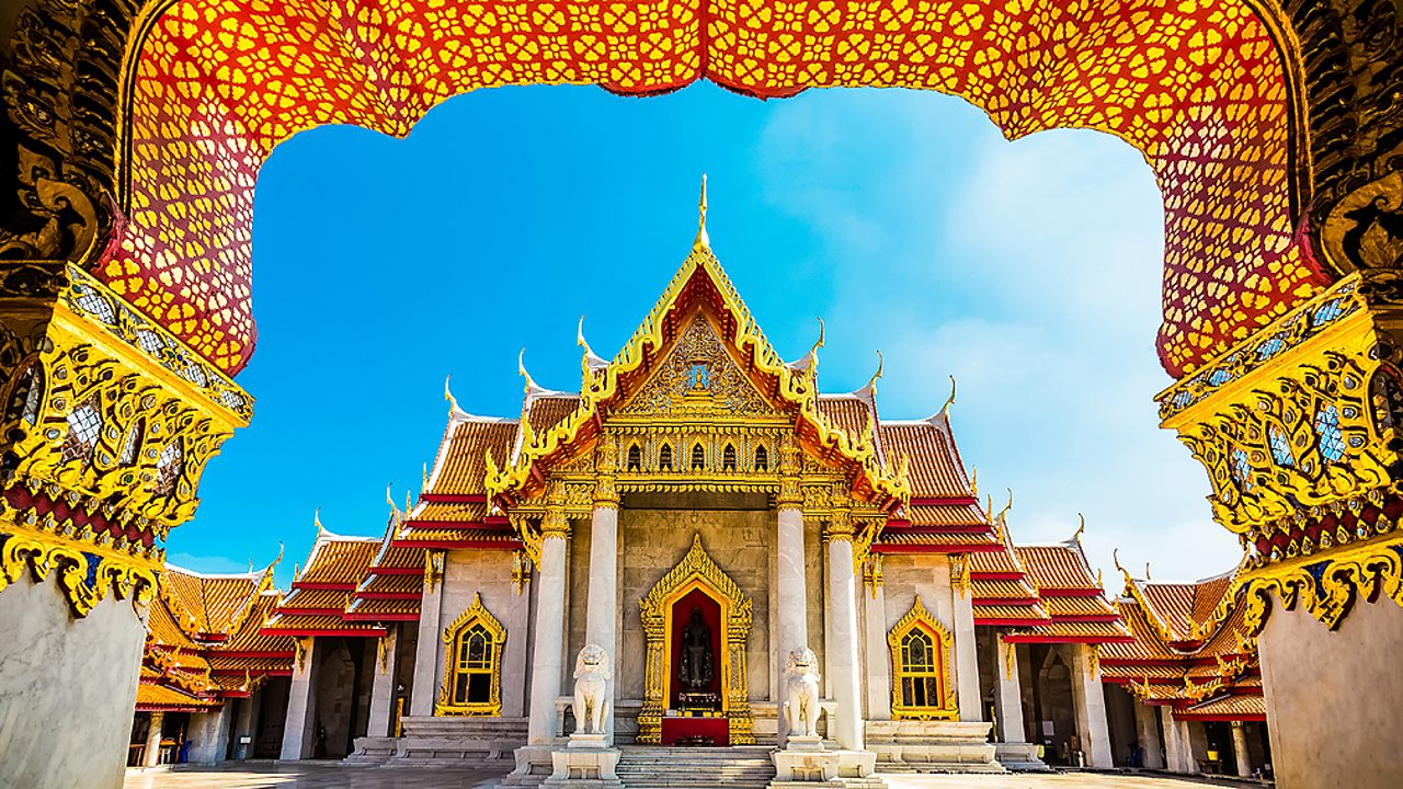 Buddhism – The Marble Temple in Bangkok, Thailand