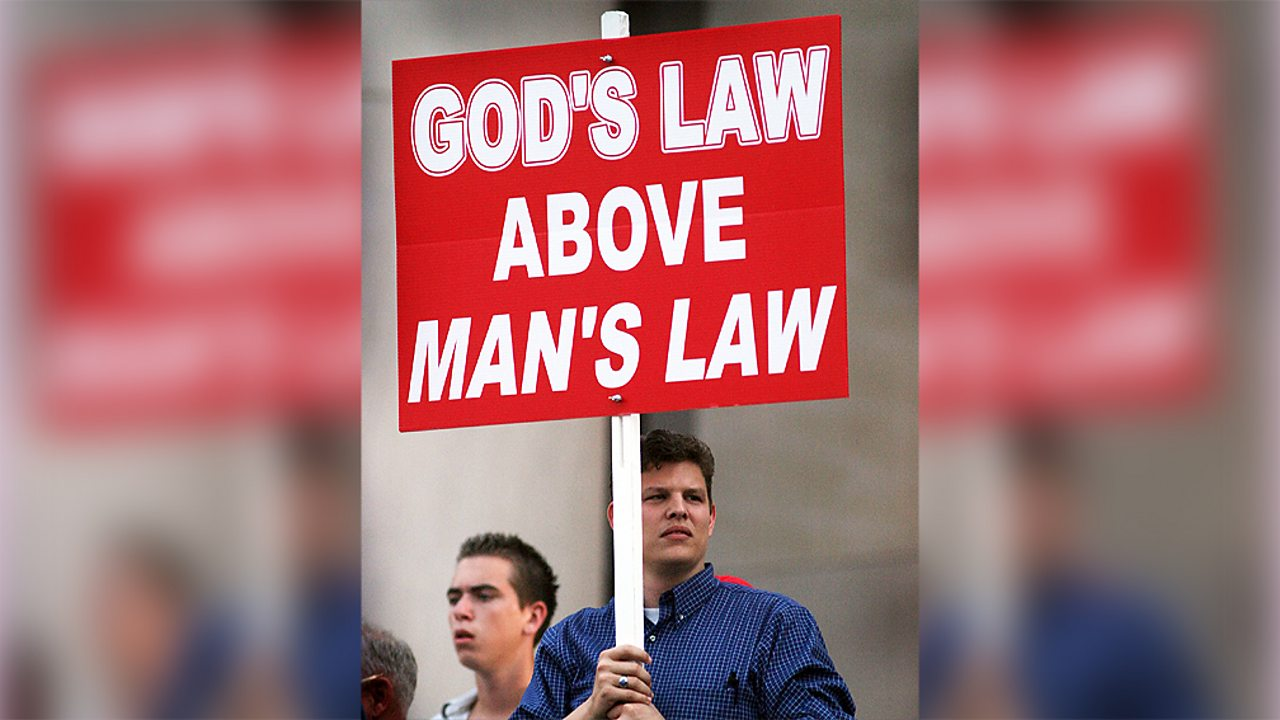 Christianity – Protesters in America