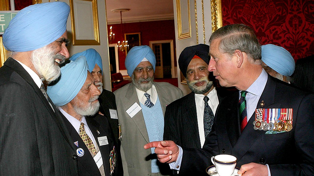 Sikhism – Prince Charles attending a Sikh festival in London