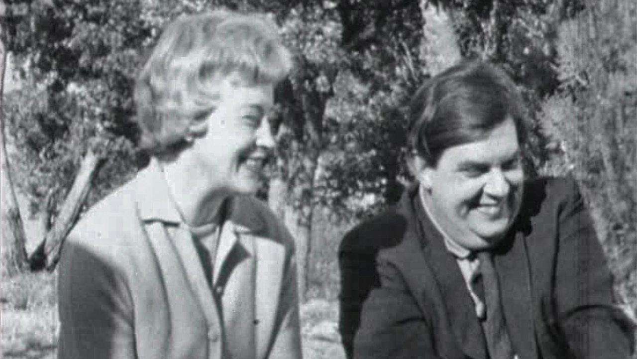 Margaret and Geoffrey Burbidge, 1963