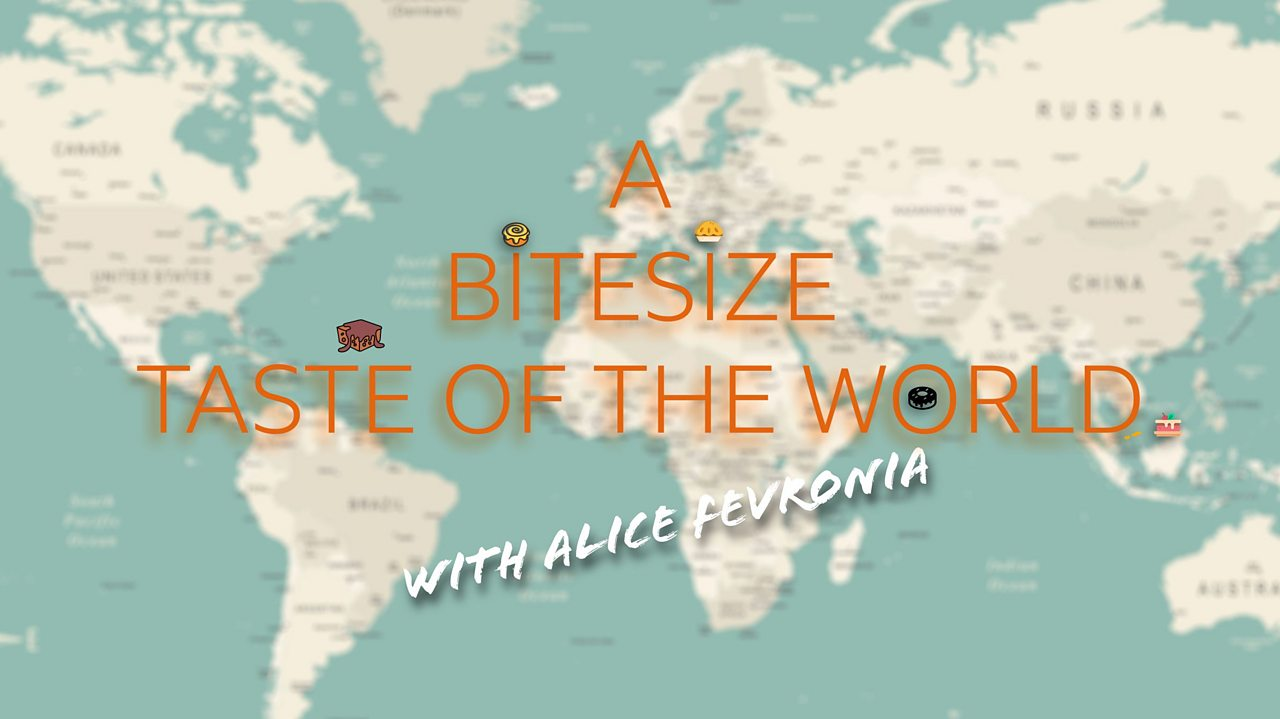 Quiz: Bitesize taste of the world with Bake Off's Alice Fevronia