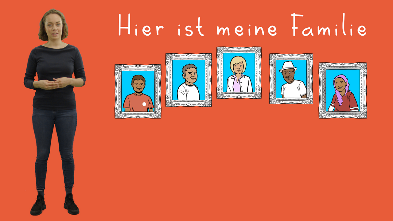 Describing your family and pets in German using  'haben'