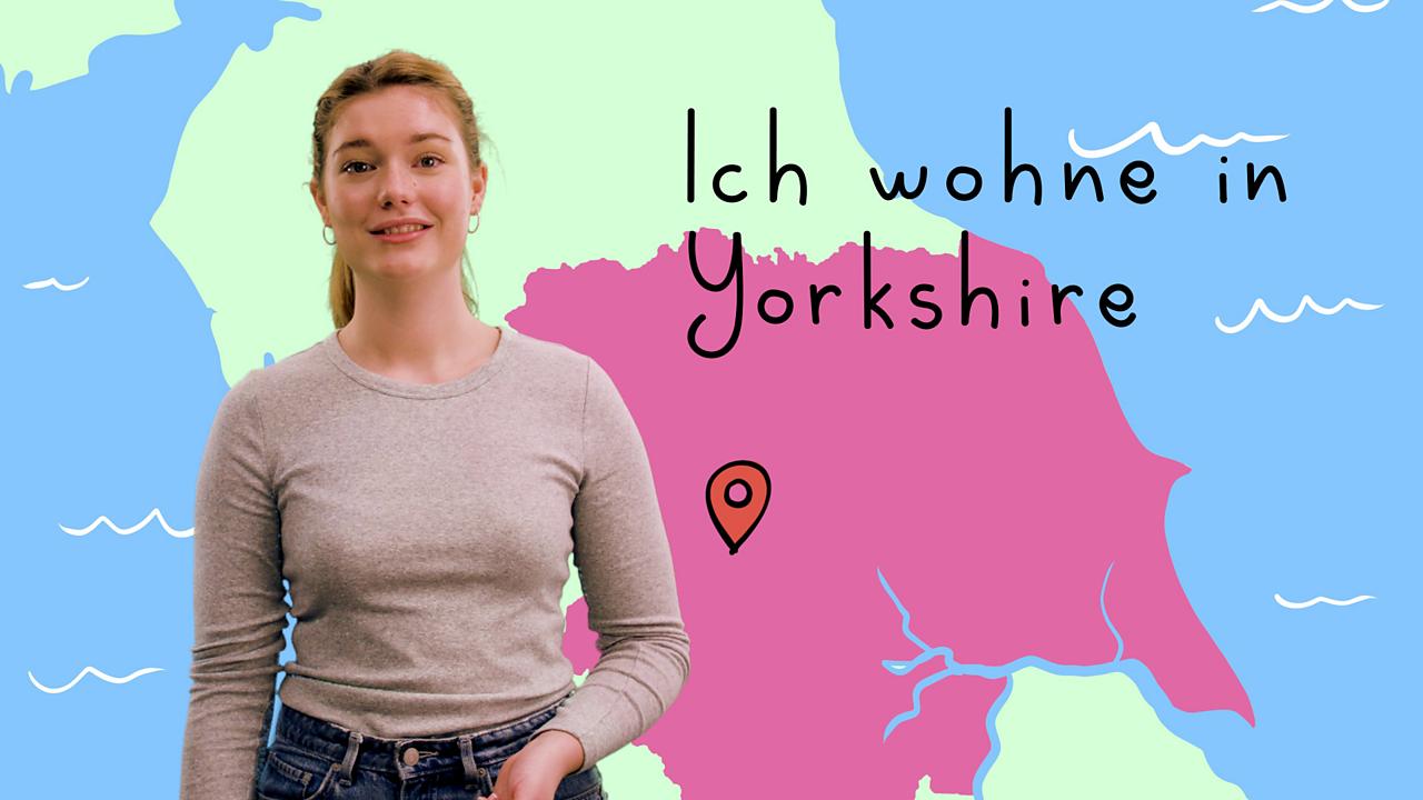 Describing where you live in German using 'wohnen'