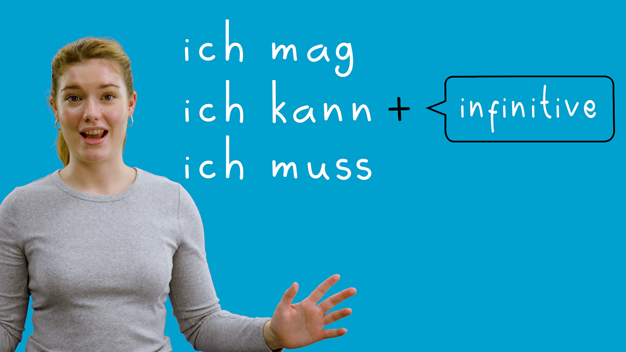 How to use the infinitive and other verbs in German
