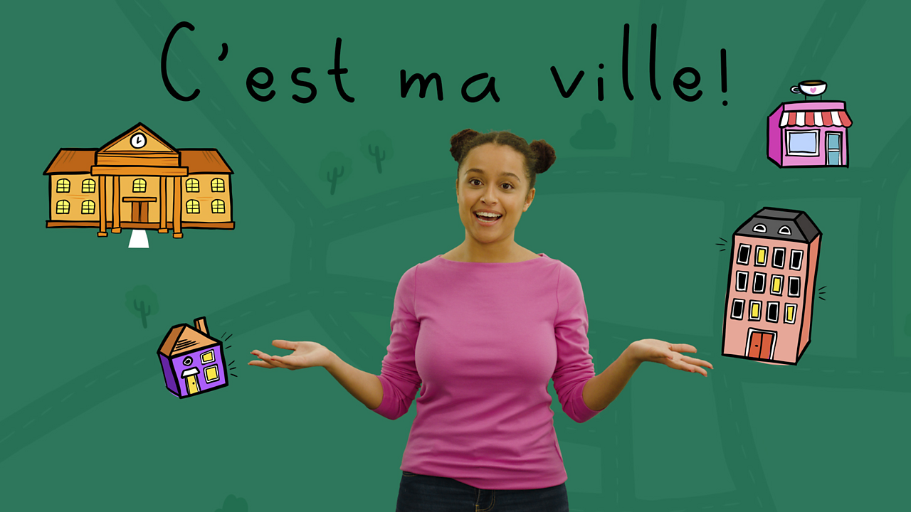 Talking about where you live in French