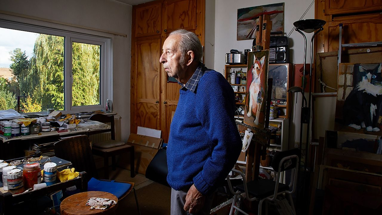 Sam Dresner grapples with his memories of the Holocaust