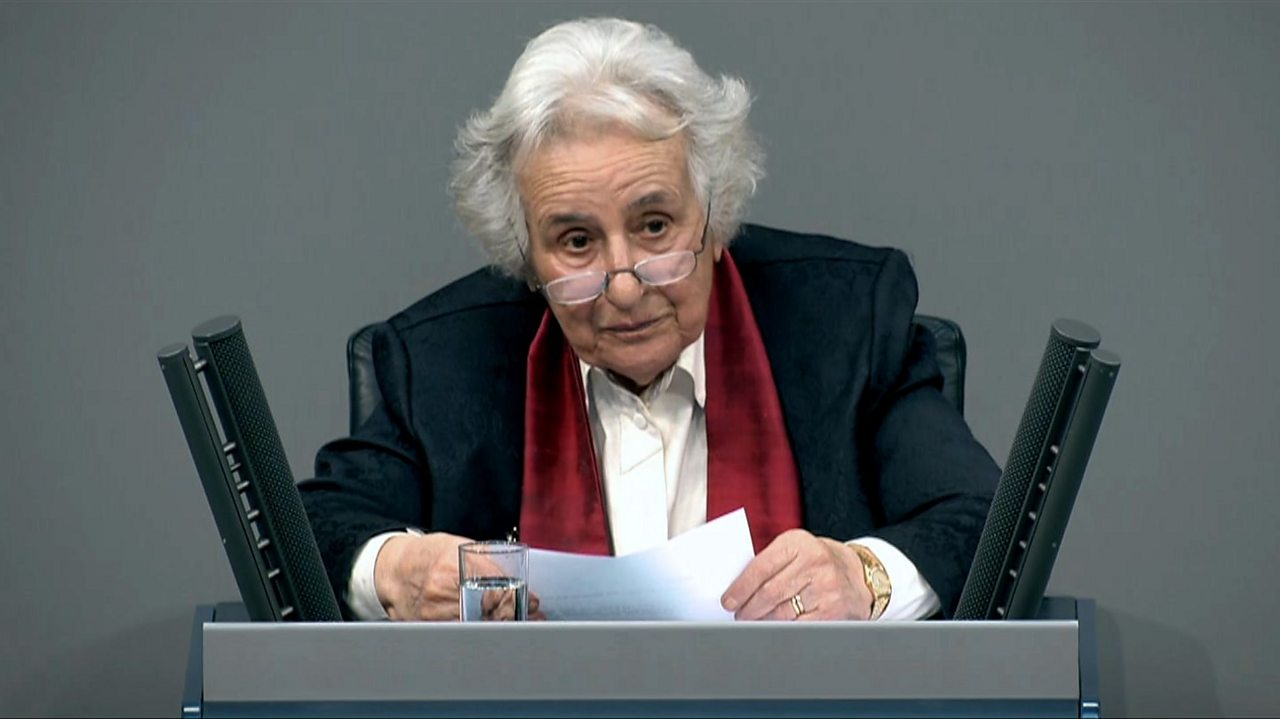 Anita Lasker-Wallfisch addresses German Parliament