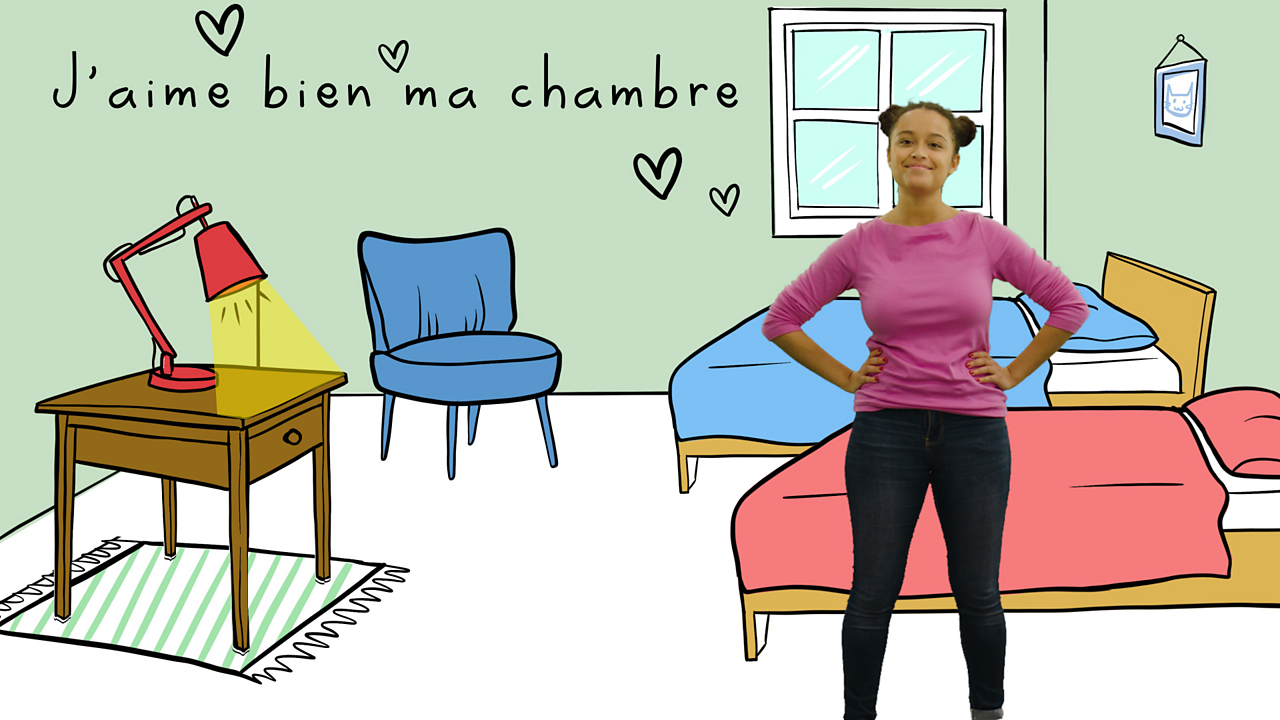 Talking about your room in French