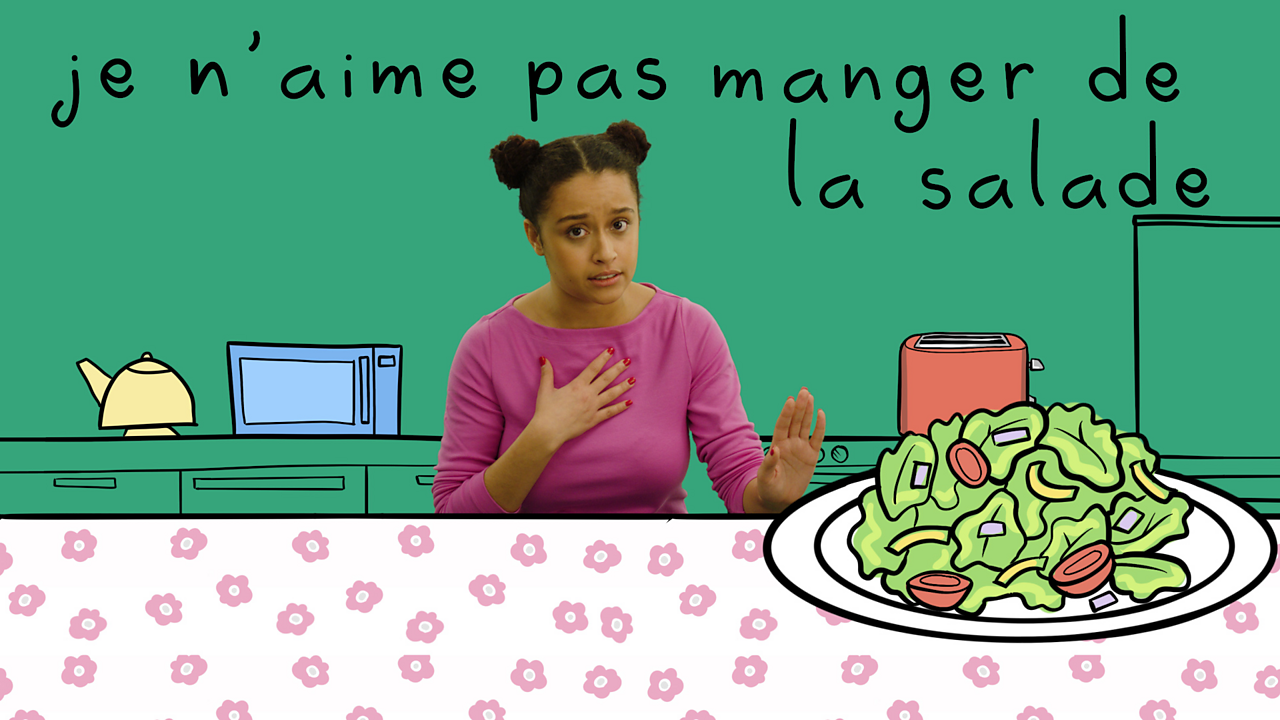 Talking about food in French