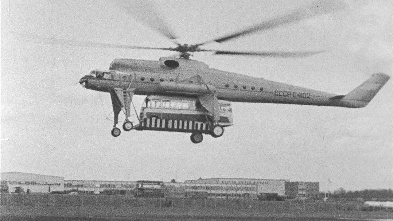 Mil Mi-10 demonstration, 1967