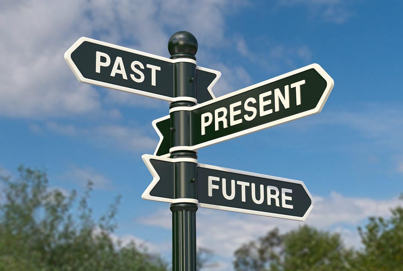 Past, present or future tense