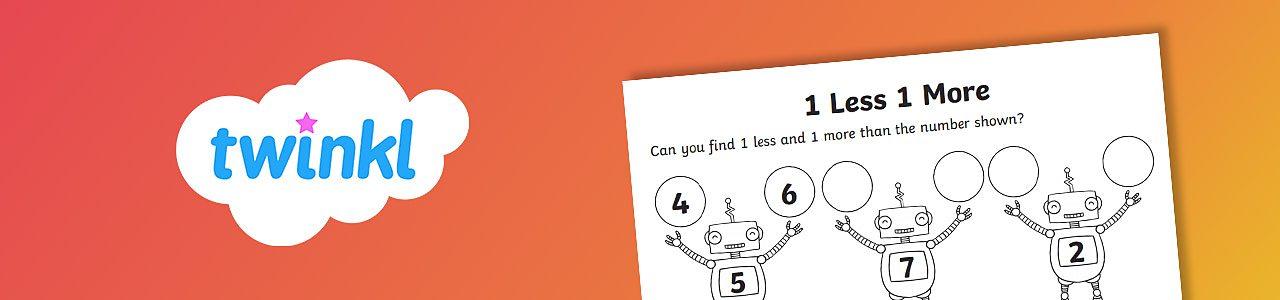 Number robots worksheet
