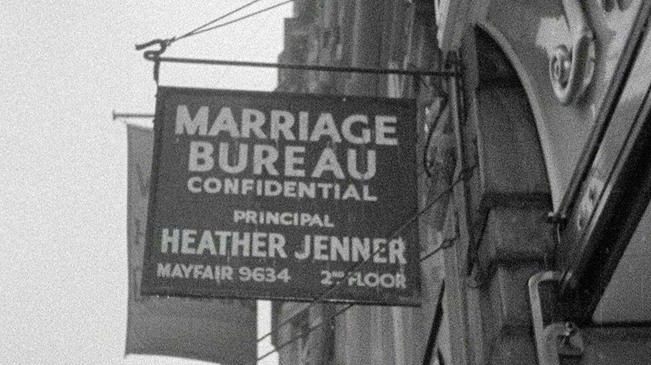 Marriage bureau, 1959