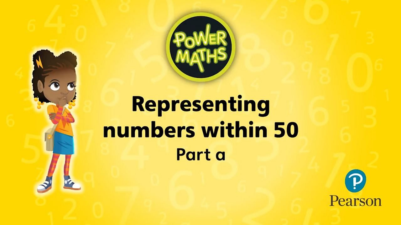 Representing numbers within 50