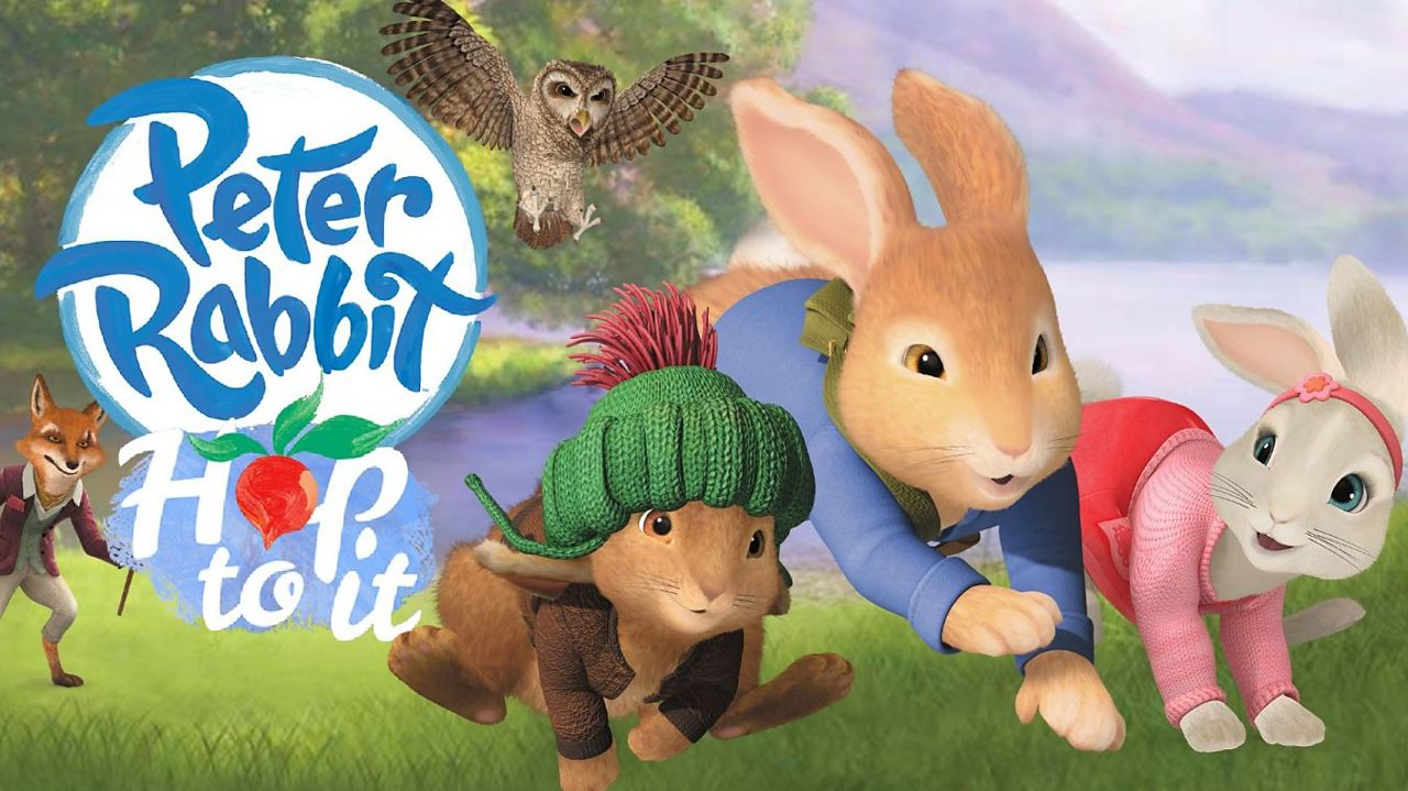 Play Peter Rabbit's Hop To It game