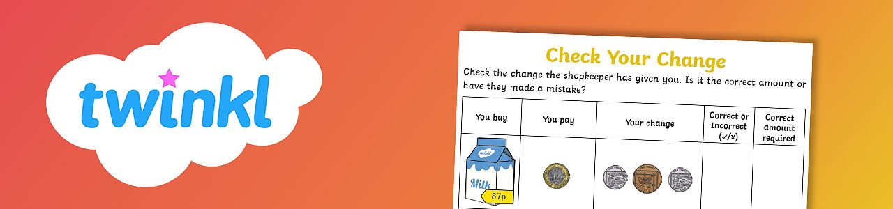 Check your change worksheet