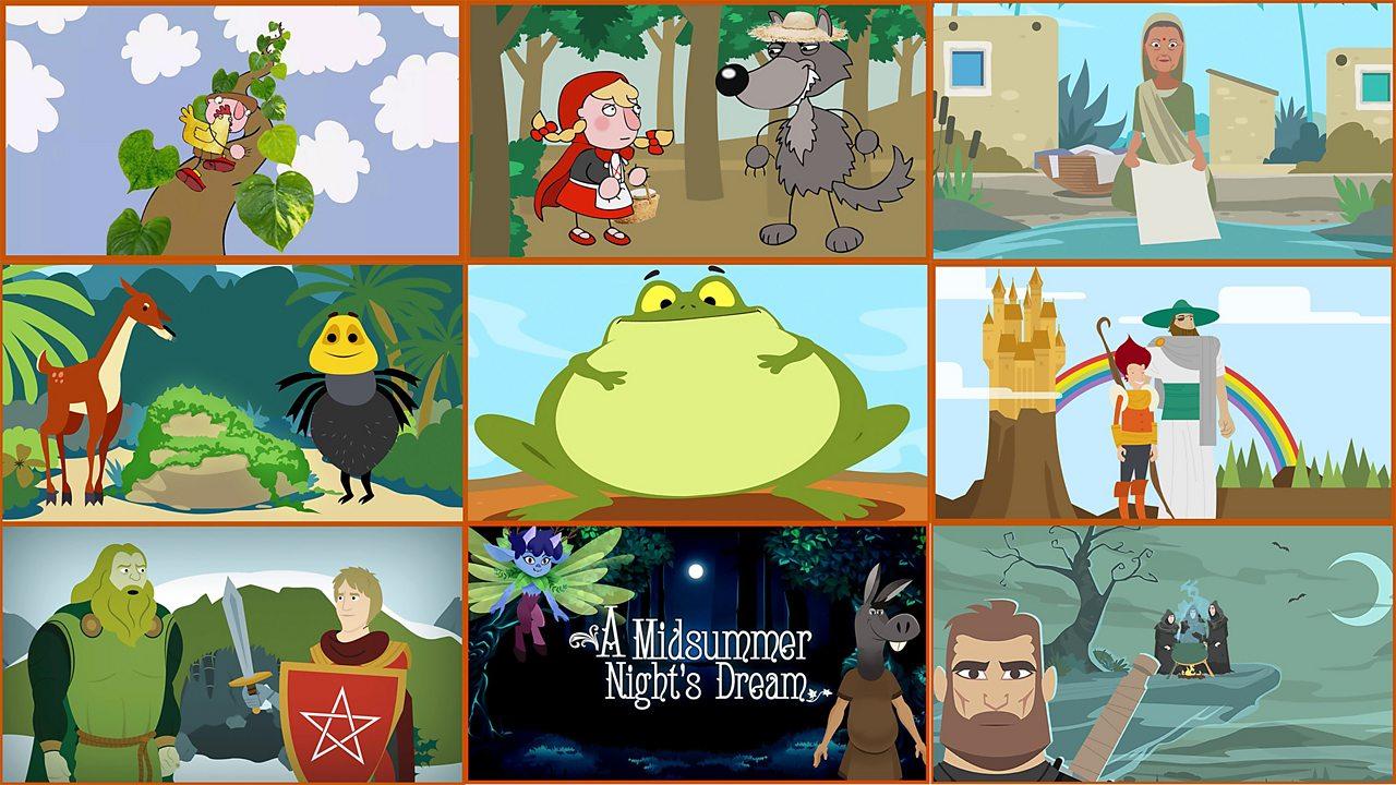 Full versions of animated series for English KS1/KS2