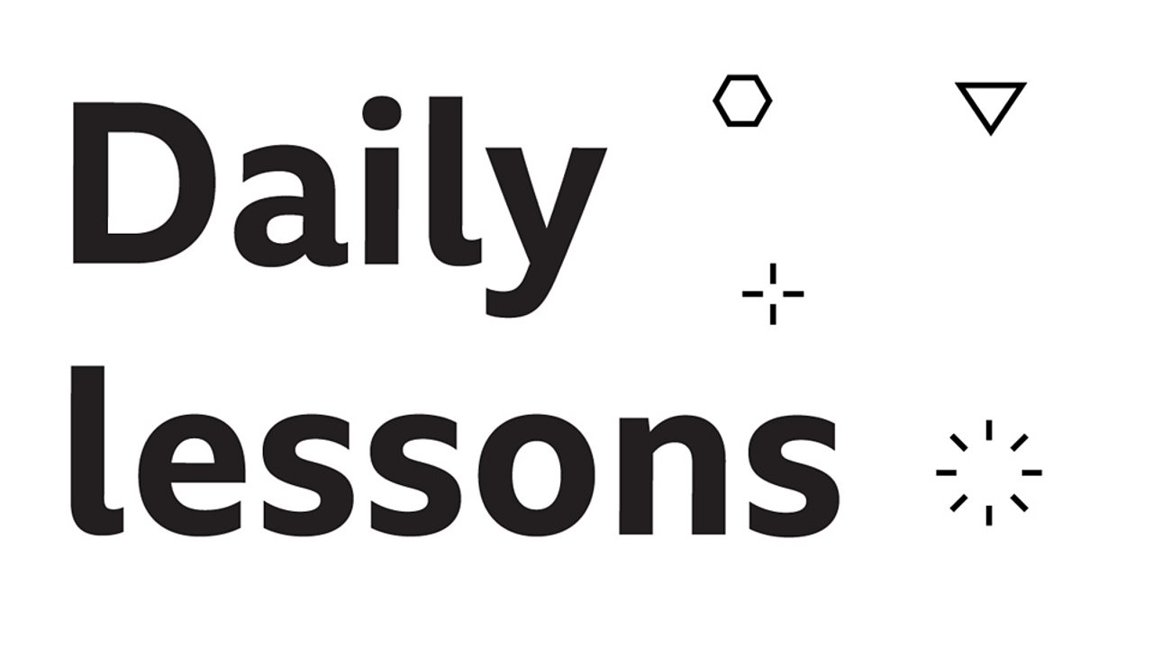 Bitesize Daily lessons