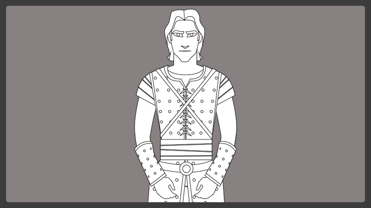 Line drawing - Beowulf