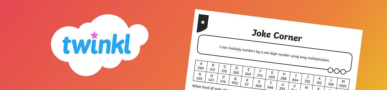 One-digit number multiplication worksheet