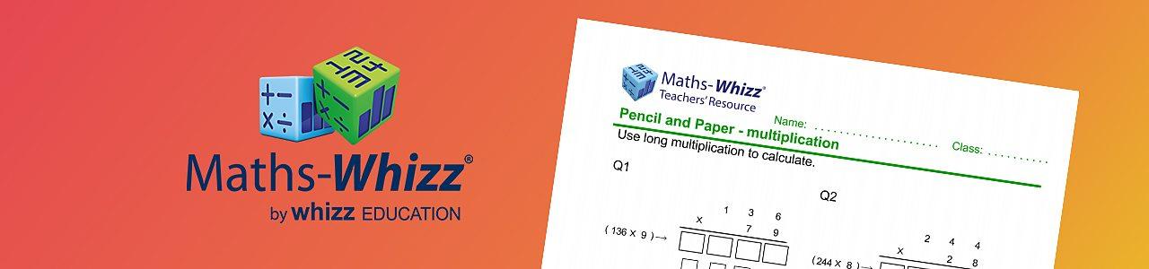 Long multiplication worksheet