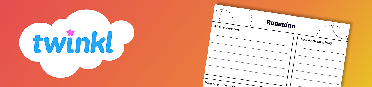 Ramadan worksheet