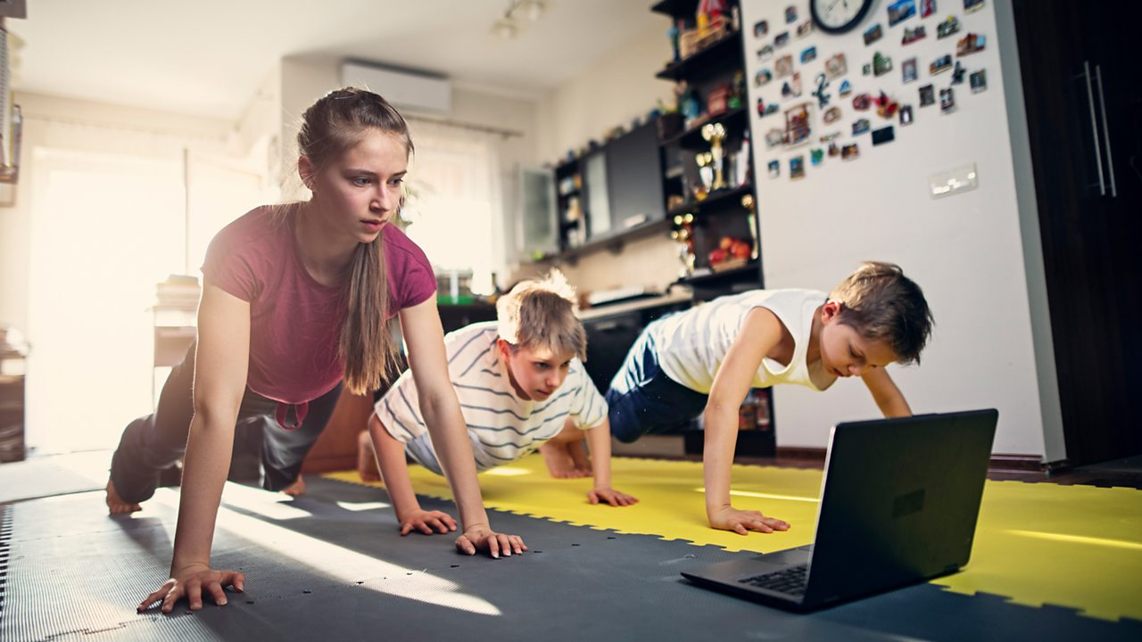 Find a physical activity for you and your family