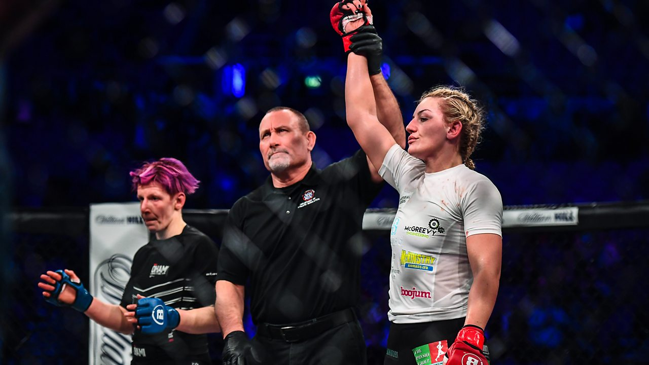 Train like an MMA fighter with Leah McCourt