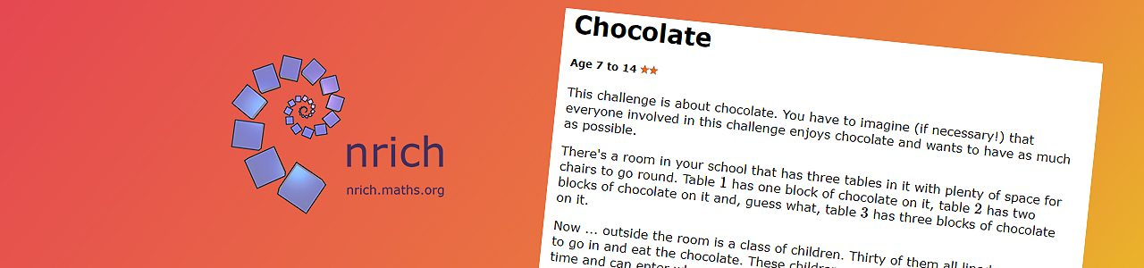 Comparing fractions chocolate challenge