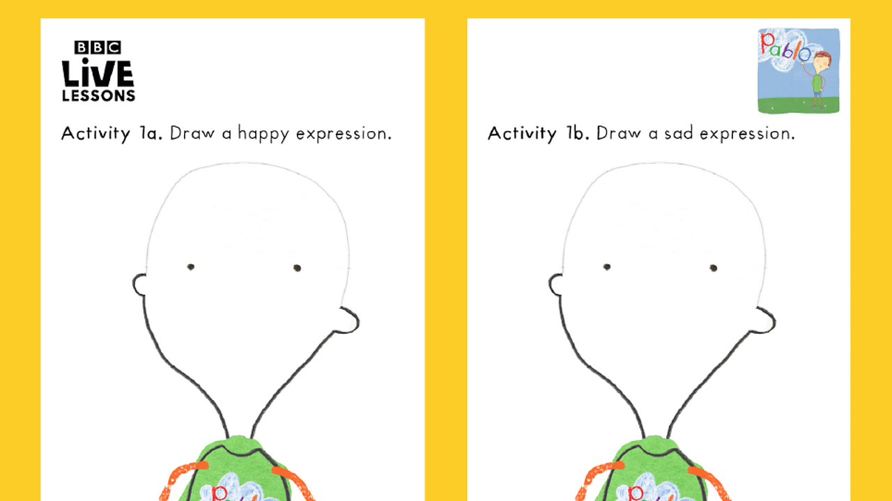 Activity 1 - happy and sad expressions