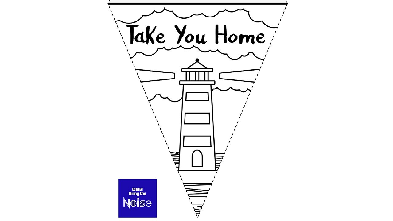 EYFS/KS1 - Colour in your own bunting for VE Day 75
