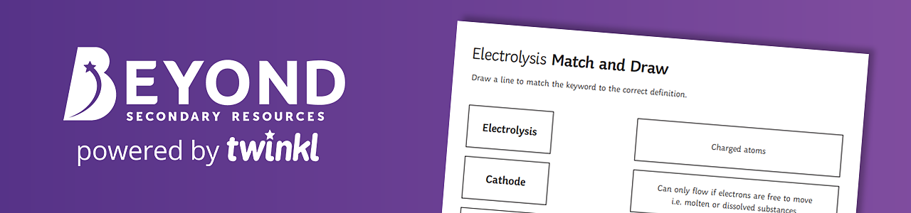 Electrolysis match and draw