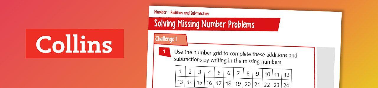 Missing number problems