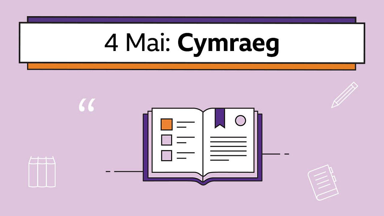 Sut i gymharu darnau darllen (How to compare reading passages)