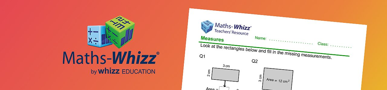 Finding the area worksheet